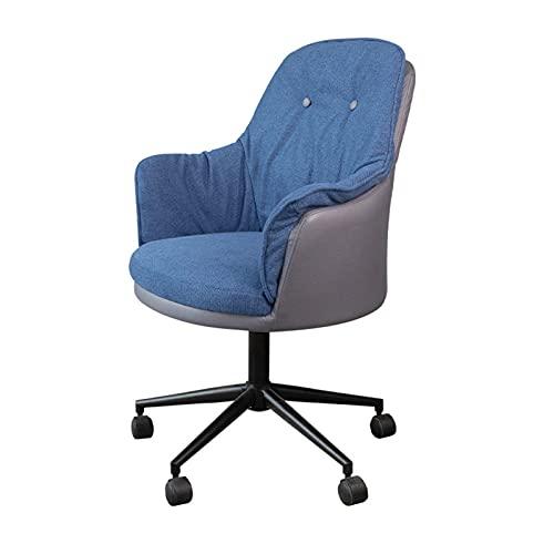 bureaustoel ergonomische fauteuil home office stoel verstelbare draaibare stoel voor conferentieruimte vrije tijd moderne home bureaustoel blauw