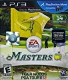 New Electronic Arts Sdvg Tiger Woods Pga Tour 12 Masters Product Type Ps3 Game Genre Video Sports