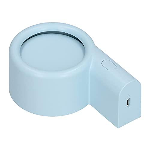 01 Ventilador de Mano, Mini Ventilador de Mano portátil Plegable de Carga USB de Poco Ruido para Oficina para Exteriores