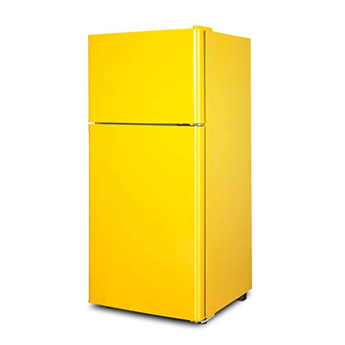 J+N Klein Kühlschrank Gefrierfach 2-türig Gesamtkapazität (L): 118| 2 Schichten Gehärtete Glastrennwand| Stromverbrauch: 0,55 KWh / 24 H Für Zu Hause, Im Büro, In Der Küche Gefrierschrank