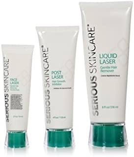 Serious Skincare Liquid Laser Gentle Hair Remover Trio Full Sizes