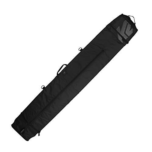 K2 Deluxe Double Ski Bag 2017 - Black