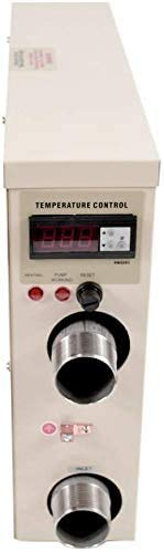 ZMM 240V 11KW Electric Pool Water Heater For Above Ground Inground Pool Hot Tub.,Upgrade Portable SPA Water Bath Heater Thermostat Swimming Pool Thermostat Heater Pump