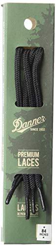 """Danner Laces 84"""" Shoelaces, Black, Universal Regular US"""