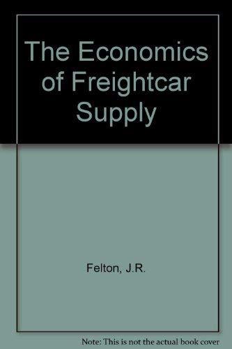 Economics of Freight Car Supplyの詳細を見る
