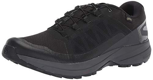 Salomon Men's XA Elevate GTX Trail Running Shoes, Black/Ebony/Black, 9