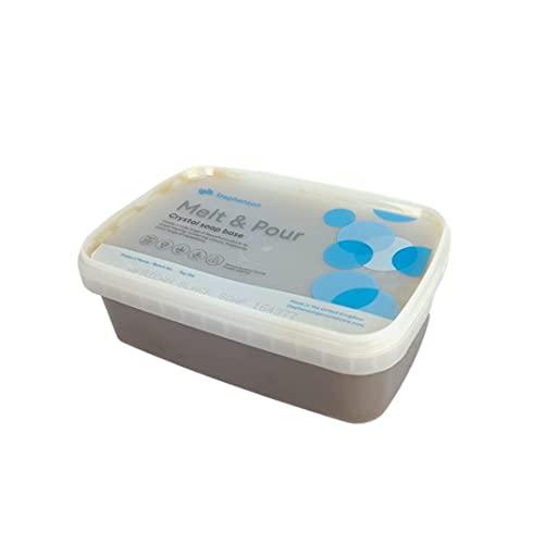 Afrikanische schwarze Seife Melt and Pour Seifenbasis 1kg