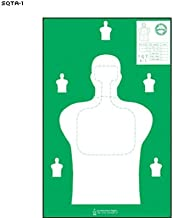 Georgia Public Safety Training Center Target Silhouette Green Size: 23