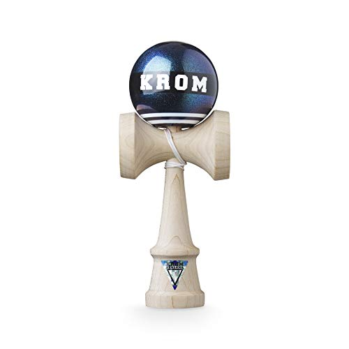 KROM Kendama Strogo 1% Bioluminescence – Flawless Balance – Strong and Durable – Enhanced Cognitive Skills – Improved Balance, Reflexes, and Creativity–Kendama Model Pro Made For Beginners and Experts