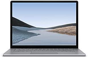 "Microsoft Surface Laptop 3, 15"", 8 GB RAM, AMD Ryzen 5 3580U, 256 GB SSD, -QWERTY Nederlands Toetsenbord, Platina"