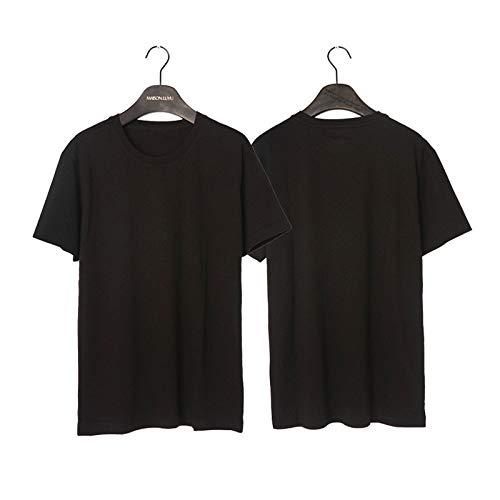 Camiseta de Moda para Hombre, Manga Corta de algodón para Hombre, Camiseta de Manga Corta para Hombre