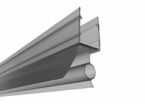 Für 6-8 mm Glasscheiben / Dichtung für Duschen- und Trennwände (Nr.11, 100 cm) / Dichtung Dichtleiste Duschdichtung für Duschkabine Duschwand Duschabtrennung