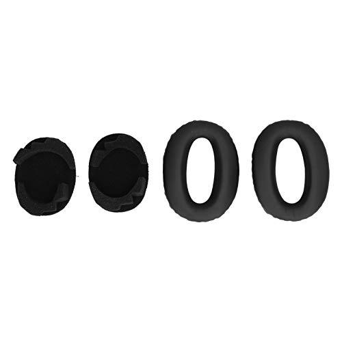 Wosune Accesorio para Auriculares Mano de Obra Fina Rendimiento de Bajos Fácil de Guardar Almohadilla para Auriculares Cómodo de Usar para la Oficina en casa MDR-1000X Auriculares WH1000XM2