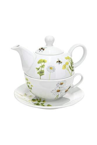 GILDE Porzellan Tea for one Bienenwelt 49732