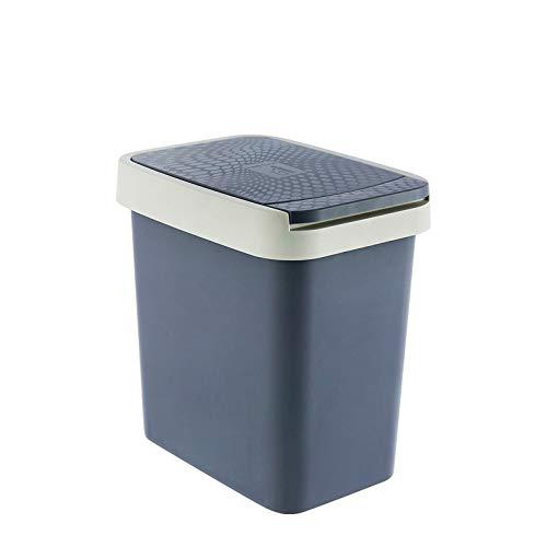 Cubo de basura grande rectangular BombeCover de LANJ, para cocina, salón, aseo, creativo