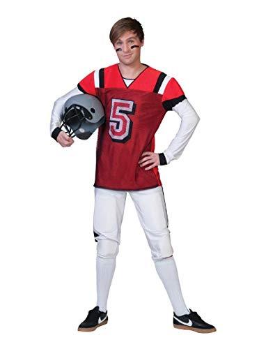 Generique - Amerikanisches Football- Kostüm für Herren