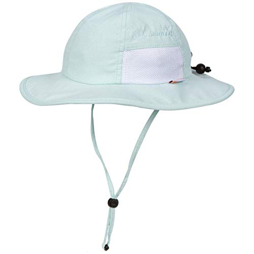 Product Image of the SwimZip Kid's Sun Hat - Wide Brim UPF 50+ Sun Protection Hat | Mint 0-6 Month