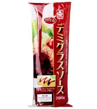 Ikari Kakeru Japonesa Demiglace Salsa 290g -Disfruta del sabor dulce y salado de esta salsa especialmente curada para platos Tonkatsu.