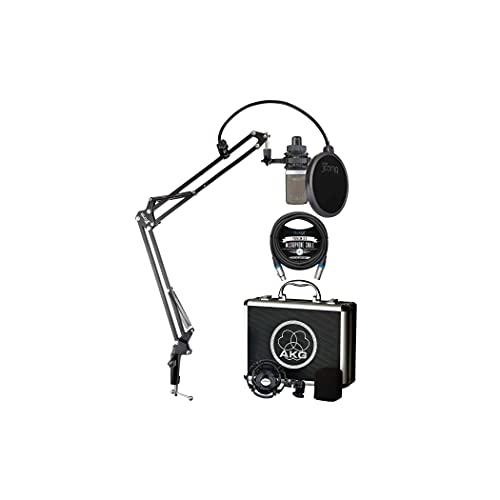 AKG C214 Large-Diaphragm Condenser Microphone for Vocals, Guitars, Pianos,...