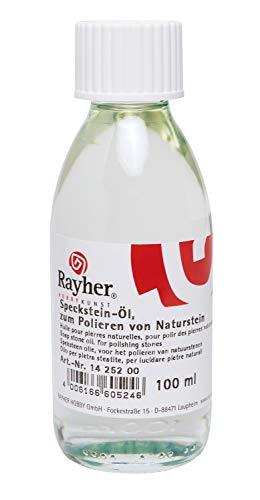 RAYHER 1425200 Speckstein-Öl, Flasche 100 ml