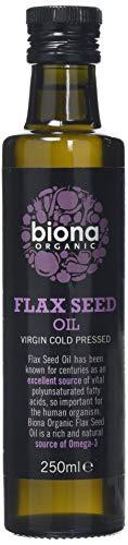 Biona Organic Flax Seed Oil, 250ml, Pack of 2