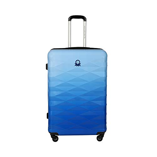 United Colors of Benetton Ombre Polycarbonate 70 cms Blue Hardsided Check-in Luggage (0IP6MP28HL04I)