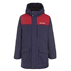 in budget affordable Nautica, Sports Navy, 2T Boys Waterproof Sherpa Lined Hooded Hoodie