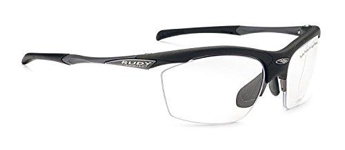 RUDY PROJECT(ルディプロジェクト) ロードバイク スポーツサングラス サイクリング 自転車 フィット感 視力矯正 度付き対応 調整可能 アゴン ダイレクトクリップブラックフレーム 0129SP291506V 重量: 30グラム