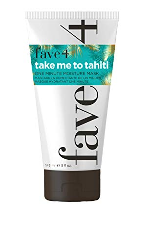 fave4 hair Take Me To Tahiti One Minute Moisture Hair Mask, 5 Fl Oz