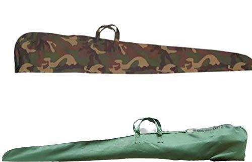 Fodero fucile 100% cotone Apertura: con zip Disponibile in colore verde e mimertico Lunghezza 130CM
