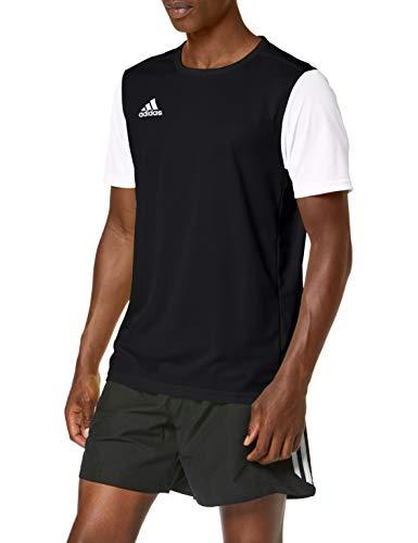 adidas Herren ESTRO 19 JSY T-Shirt, Black, L