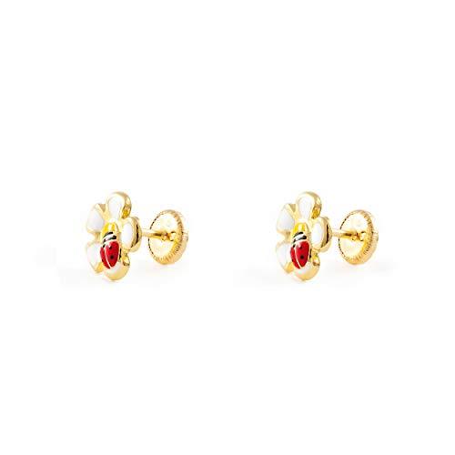 orecchini in oro bambina Monde Petit T1818P -Orecchini per bambini
