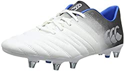 Optic White Canterbury Men's Phoenix 2.0 Rugby Boot
