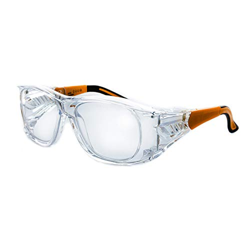 Varionet Safety VHP10 VH10 Pro 250 - Gafas de protección visual (+2,50), transparente y naranja ✅