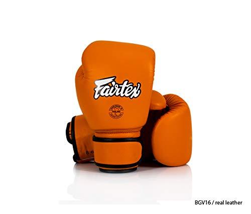 Fairtex - Guantes de Boxeo (Piel), Color Verde