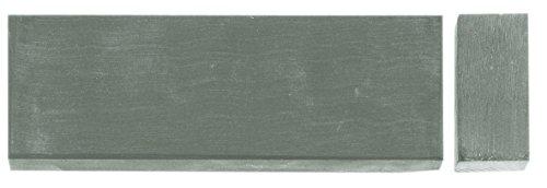 Herbertz Unisex– Erwachsene Messer-zubehör Wasser-Abziehstein 20 x 5 cm feinstes Korn Länge: 20.0cm, grau, M