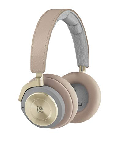Bang & Olufsen Beoplay H9 3rd Gen Wireless Bluetooth Over-Ear Headphones (Amazon Exclusive Edition) - Active Noise Cancellation, Transparency Mode, Voice Assistant Button and Mic, Argilla Bright