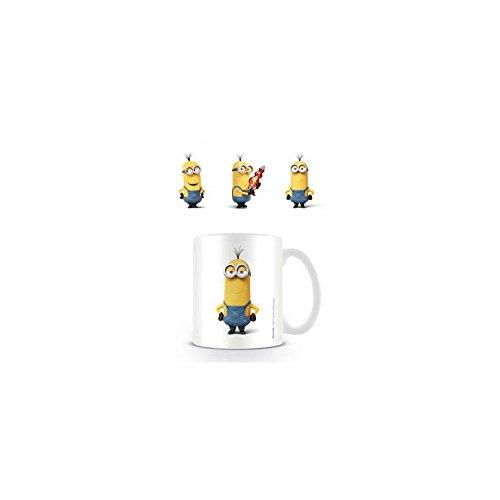 MINIONS MG23394 Mug en céramique Motif Personnage Kevin 8 x 11,5 x 9,5 cm Multicolore
