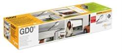 Mhouse - Kit portes de garage à chaîne. Livré avec 2 GTX4