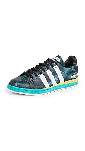 adidas by RAF Simons Men's Samba Stan Sneakers, Black Multi, 10.5 Medium US
