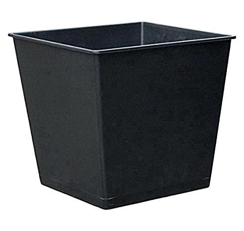 Dehner Universal-Pflanztopf, ca. 30 x 30 x 29 cm, Kunststoff, schwarz