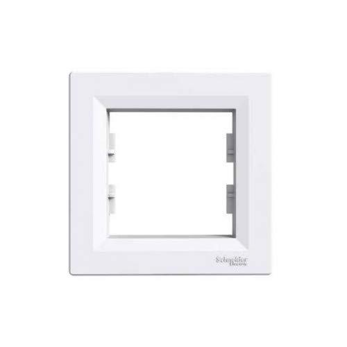Schuko stopcontact, dimmer, schakelaar, knop, TV SAT, VDE ((23) - frame 1-vak)