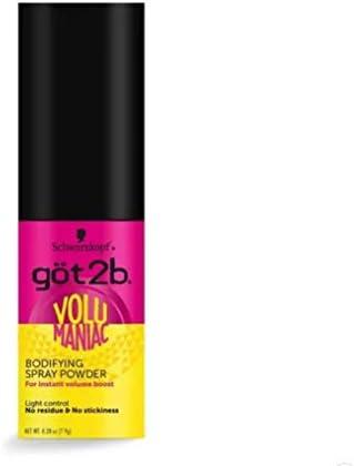 Got2b Volumaniac Spray Powder 0 28 Ounce product image