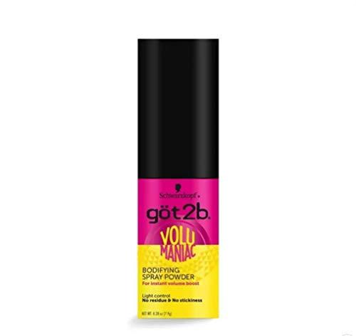 Got2b Volumaniac Spray Powder, 0.28 Ounce