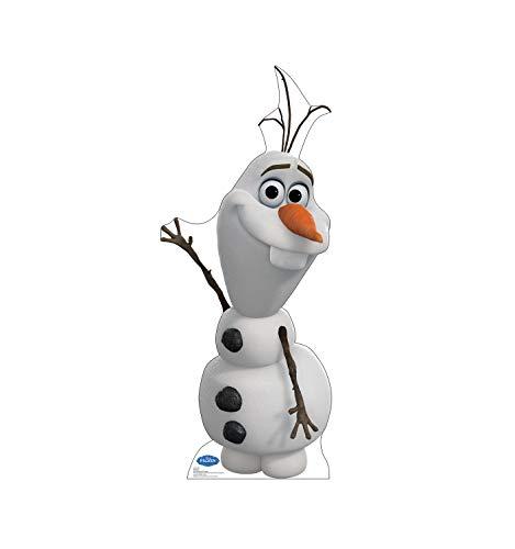 Advanced Graphics Olaf Life Size Cardboard Cutout Standup - Disney's Frozen (2013 Film)