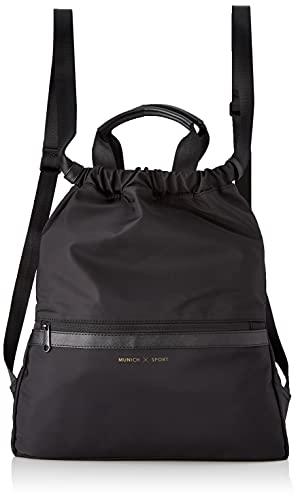 Munich X SPORT BACKPACK BLACK, BAGS para Mujer, Grande