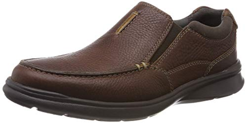 Clarks Men's Cotrell Free Slipper, Braun (Tobacco Leather), 45 EU