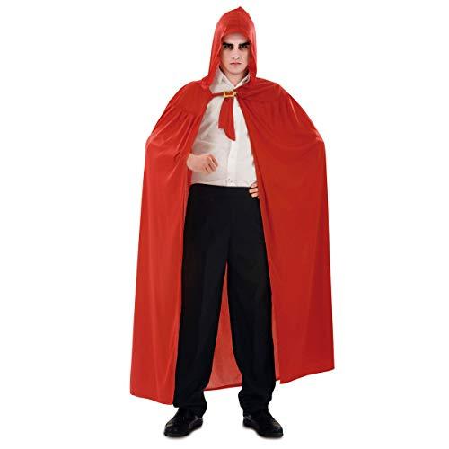 Viving Costumes Viving Costumes200258 Cape avec Capuche Rouge Tricot (Taille Unique)