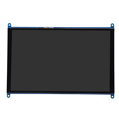 Goshyda Anzeigebildschirm, HD 1024 X 600 10-Zoll-Hintergrundbeleuchtungsschalter mit Touching-Funktion Anzeigebildschirm für Himbeere, Pi für Windows, für Ubuntu, für Raspbain