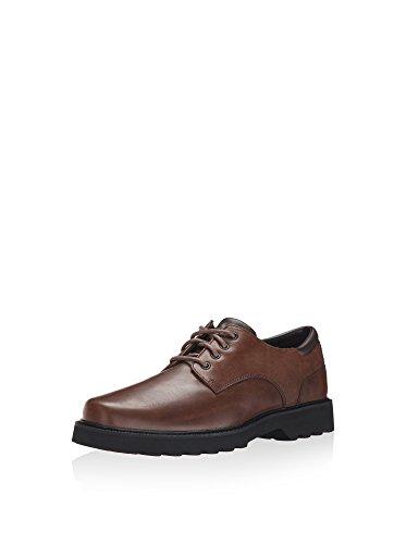 Rockport Men's Northfield Oxford-Dark Brown-11 M